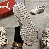 Жіночі кросівки Puma Cali White and Blue/Red., фото 8