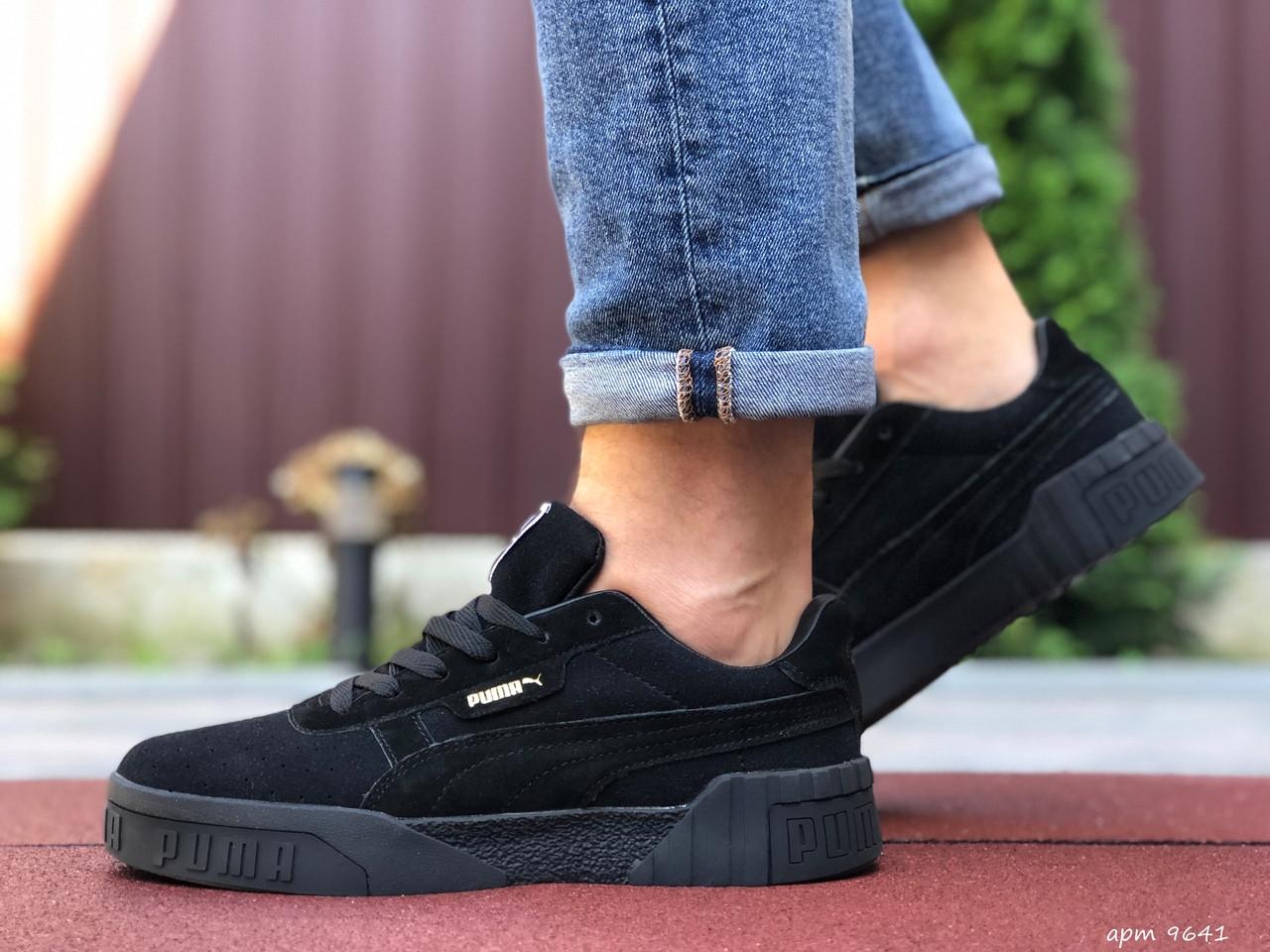 Мужские кроссовки  Puma Cali Bold черные