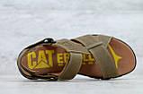 Чоловічі шкіряні сандалі Caterpillar, фото 2