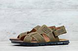 Мужские кожаные сандалии Caterpillar, фото 4
