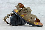 Чоловічі шкіряні сандалі Caterpillar, фото 5