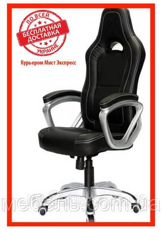 Компьютерное кресло Barsky SD-15 Sportdrive Game Black, геймерское кресло, фото 2
