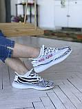 Жіночі кросівки Adidas Yeezy 350 v2, фото 7