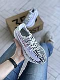 Жіночі кросівки Adidas Yeezy 350 v2, фото 8