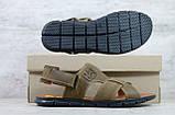 Мужские кожаные сандалии Caterpillar, фото 3