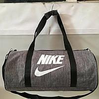 Сумка спортивная в стиле Найк Nike. Бочка, фото 1