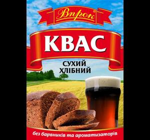 """Квас сухий хлібний """"Впрок"""" 170г без дріжджів,  барвників й консервантів"""