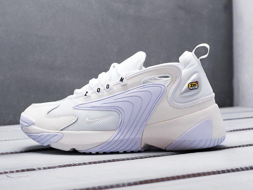 Кроссовки Nike Zoom 2K Белые (Найк Зум мужские и женские размеры 36-45)
