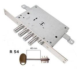 Замок врезной Mottura 52.771 TSBM ключ R54
