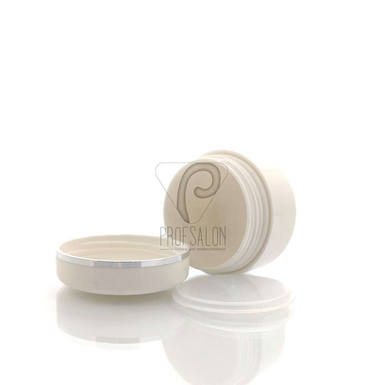Баночки косметические с мембранной в пачке (3 шт/уп) Объем: 15 гр., цвет: белый
