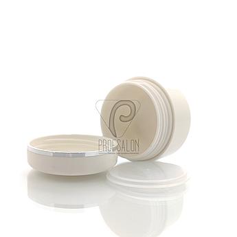 Баночки косметические с мембранной в пачке (2 шт/уп) Объем: 50 гр., цвет: белый