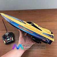 Катер на радиоуправлении 26A-37-39 игрушечный детский на пульте управления лодка игрушка RC модель