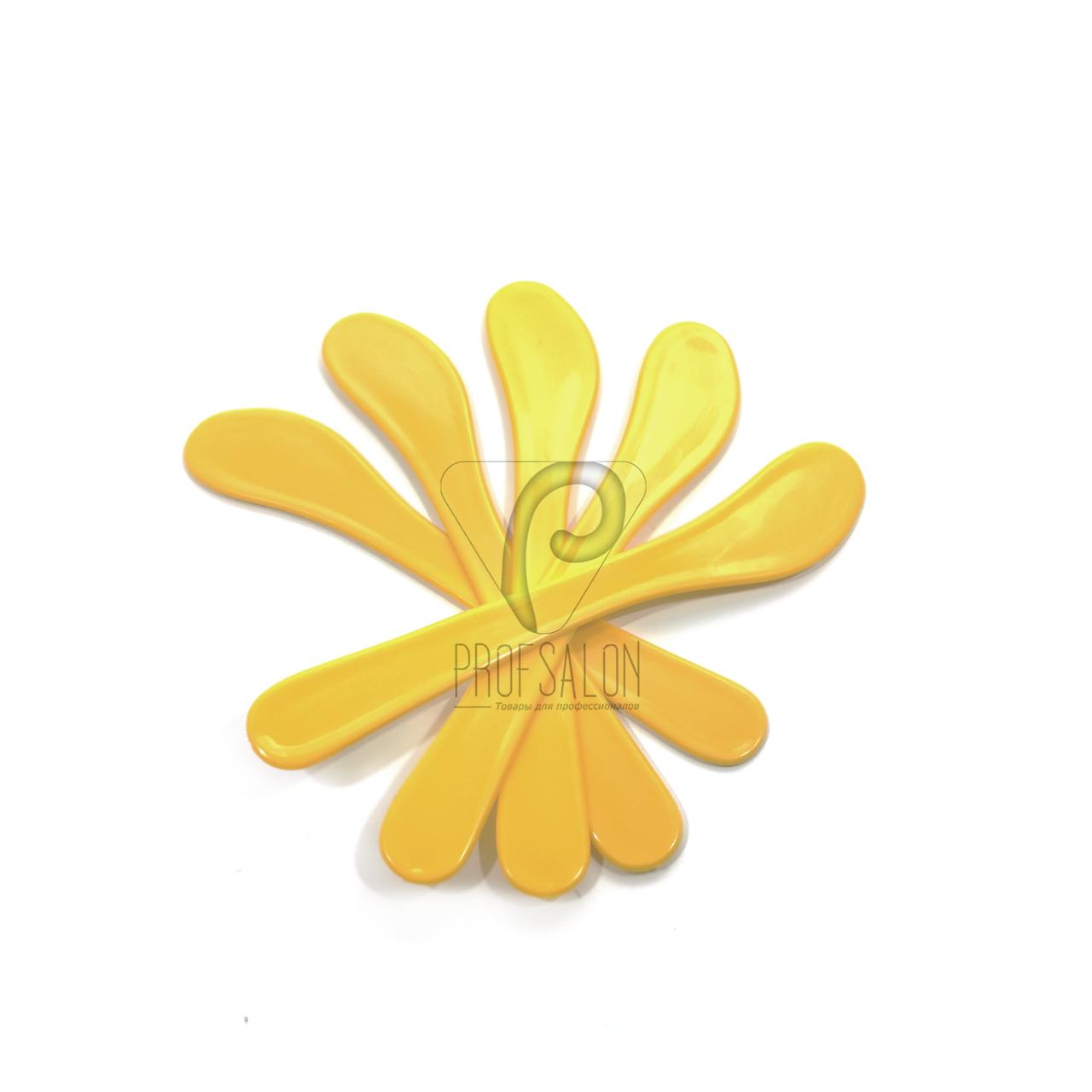 Шпатели косметологические пластиковые стандартные, длина - 150 мм (25 шт/пач)
