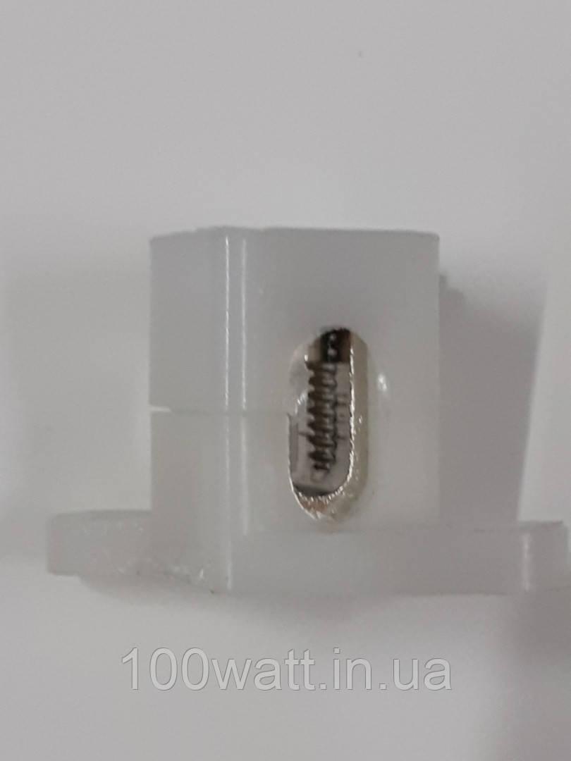 Клемма-штифт одинарная 70 мм с крышкой ST 966