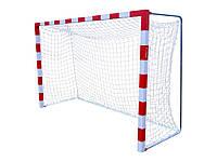 Сетка для мини-футбола, гандбола: глубина 1,1 м.; шнур 3,5 мм. #F/B