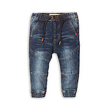 Детские джинсы джоггеры для мальчика 2-3 года, 92-98 см