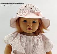 Оптом панамки детские 48-50 см панамка детская панама головные уборы детские опт для девочек, фото 1