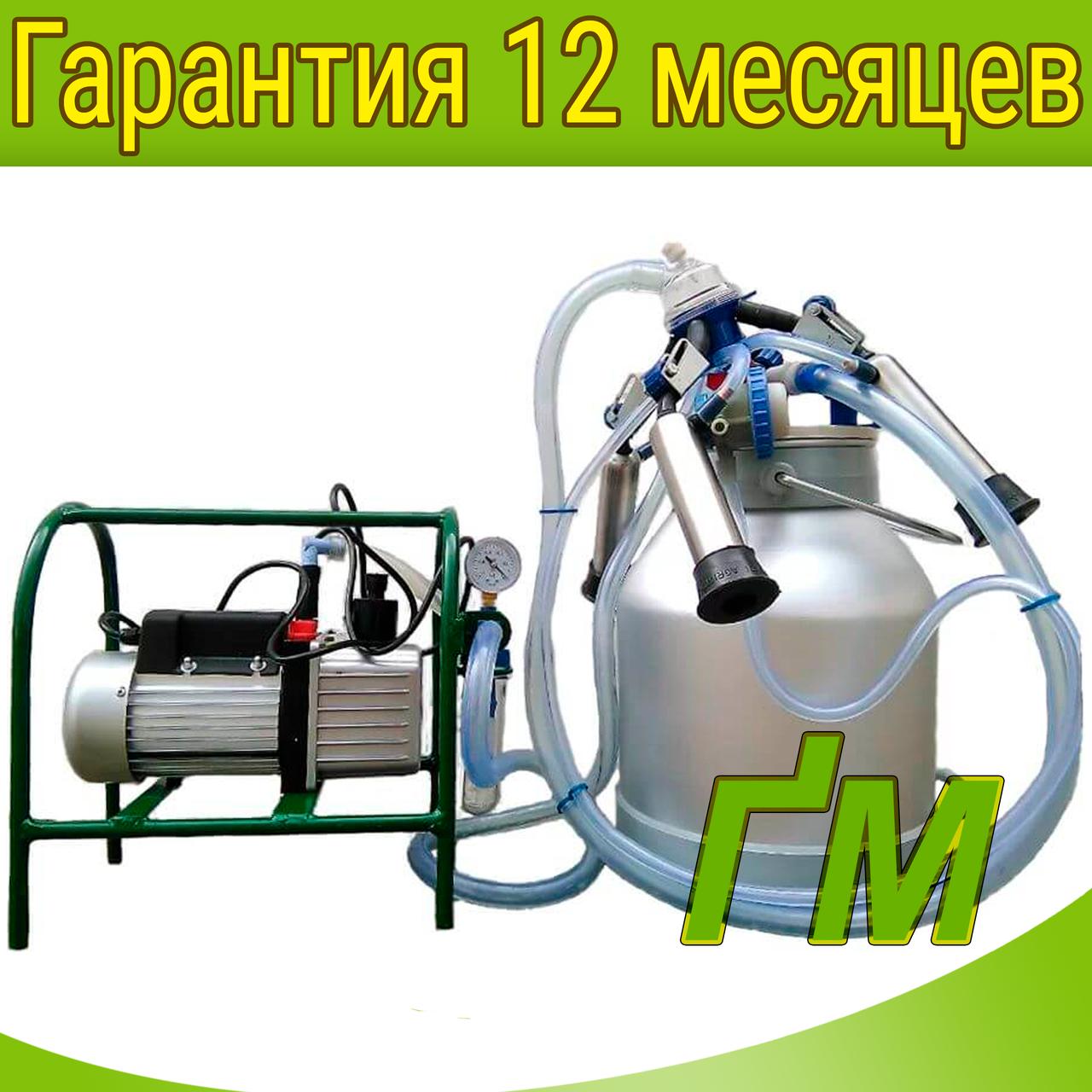 Масляний доїльний апарат Імпульс-Ротор Нержавіюча сталь