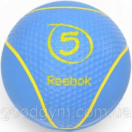 Медбол Reebok RAB-40125CY - 5 кг, фото 2