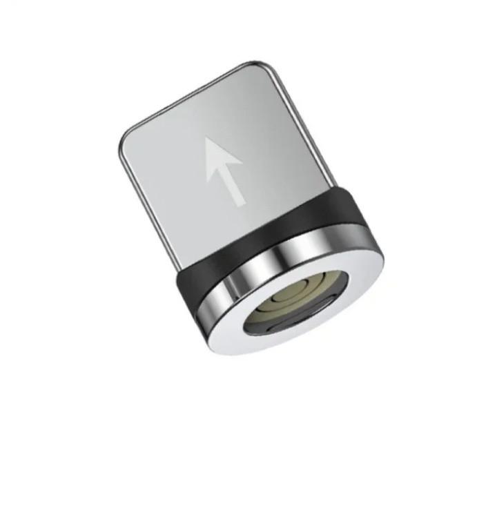 Магнітний круглий конектор iphone (8-pin) для кабелів topk TOPK AM60