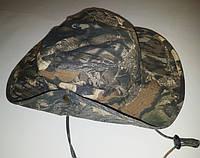 Шляпа из плотного хлопка с широкими полями, размер 63, камуфляж №1