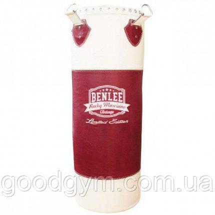 Боксерский мешок BENLEE Fullmen 120 см (199111/2025) Бордовый, фото 2