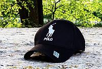 Кепка Polo black