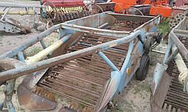 Картофелекопалка 2-х рядная польская (Agromet), фото 2