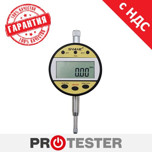 Цифровой индикатор часового типа, головка измерительная (0-25,4 мм) PROTESTER 5307-25