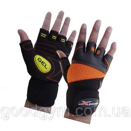 Перчатки для фитнеса X-power 9006 L/10, фото 2