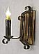 Бра из дерева с элементами декора одна свеча 670321, фото 6