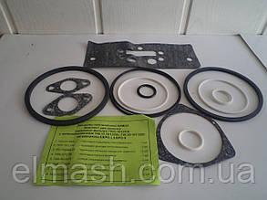 Р/к фильтра масляного с теплообменником КАМАЗ ЕВРО(17 наимен.) силикон.