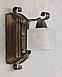 Бра на один плафон для дома с элементами ковки 670311, фото 2