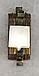 Бра на один плафон для дома с элементами ковки 670311, фото 4