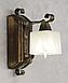 Бра на один плафон для дома с элементами ковки 670311, фото 6