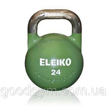 Гиря Eleiko для соревнований 24 кг стальная 383-0240