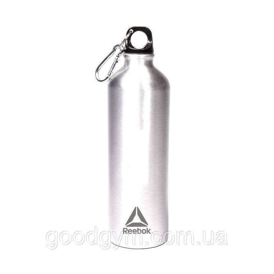 Пляшка для води Reebok Water Bottle Al 75cl Carabiner