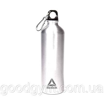 Пляшка для води Reebok Water Bottle Al 75cl Carabiner, фото 2