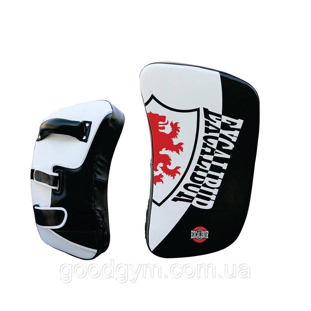 Пады для бокса Excalibur 843 черный/белый