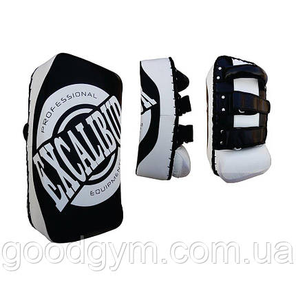 Пади для боксу Excalibur 838 чорний/білий, фото 2