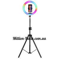 Лампа светодиодная кольцевая  для селфи M-33, фото 1