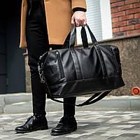 Большая кожаная дорожная сумка mod.CROSSROAD