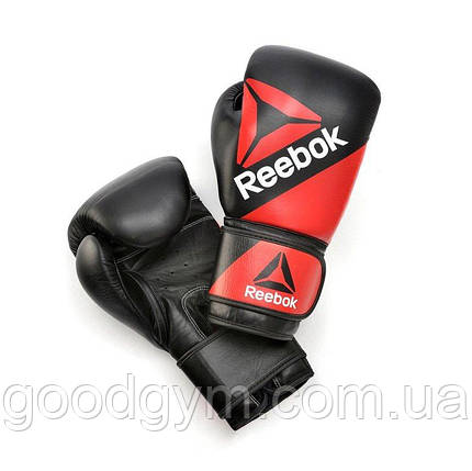 Боксёрские перчатки Reebok Combat RSCB-10200RDBK 16oz red/black, фото 2