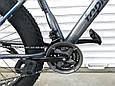 Велосипед ФЕТБАЙК Спорт 26 дюймов Горный спортивный велосипед FatBike 630 СИНИЙ Внедорожник Fat Bike, фото 6