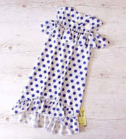Р.128-152 распродажа! детское платье Бьянка-2 летнее в горошек, фото 1