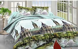 """Комплект постельного белья ТМ """"TAG"""" Поликоттон 3D """"XHY1331"""" Двуспальный"""
