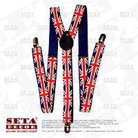 Подтяжки Union Jack для брюк