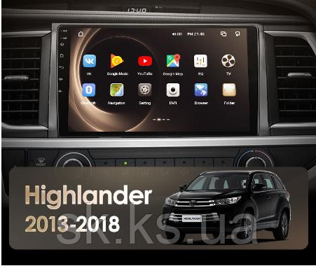 Junsun 4G Android магнитола для Toyota Highlander 3 XU50 2013 - 2018