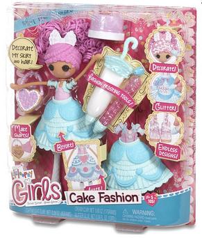 Набор с куклой LALALOOPSY GIRLS серии Lalabration Глазурина, фото 2