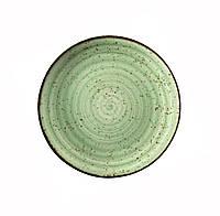Тарелка фарфоровая Corendon Atlantis Green 21 см